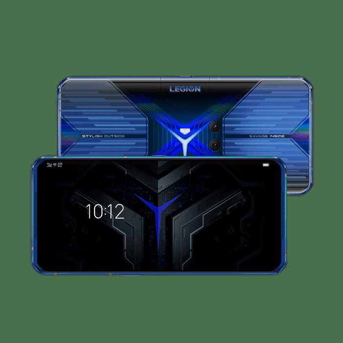 Smartphone-Lenovo-Legion-Dual-128GB-imagem-frontal-e-traseira-Curvada-Blazing-Blue-foto-1
