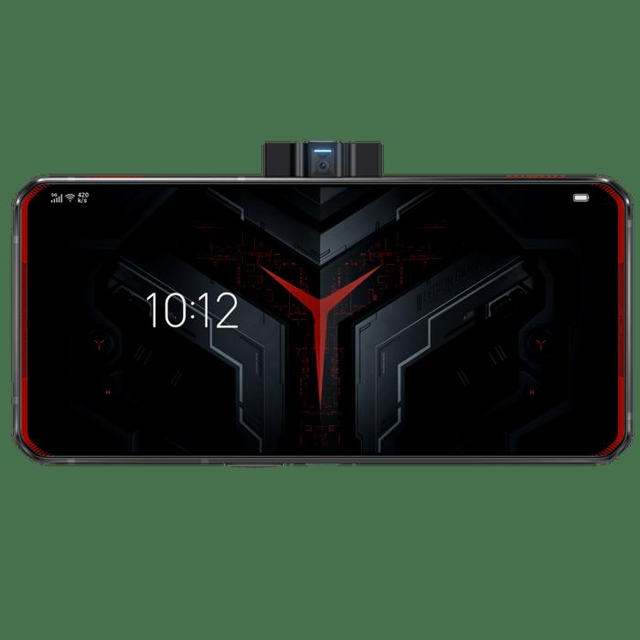 Smartphone-Lenovo-Legion-Dual-128GB-imagem-traseira-Curvada-Vermelho-foto-2