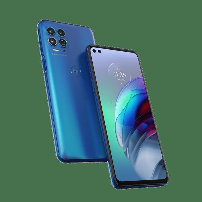 Smartphone-Moto-G100-256-GB-Imagem-Frontal-Curvada-luminous-ocean