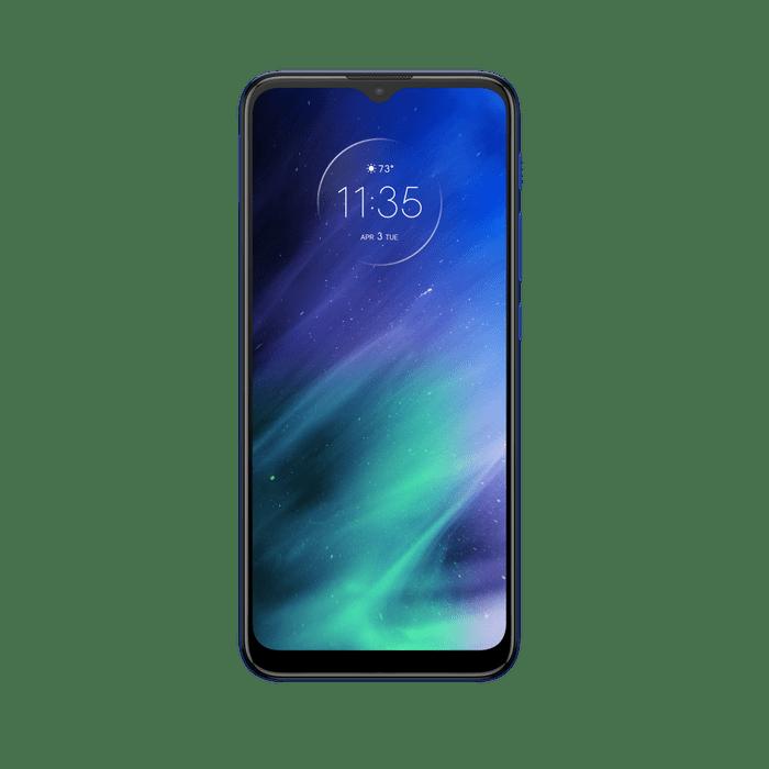 Smartphone-Motorola-one-fusion-128gb-Imagem-Frontal-azul-safira