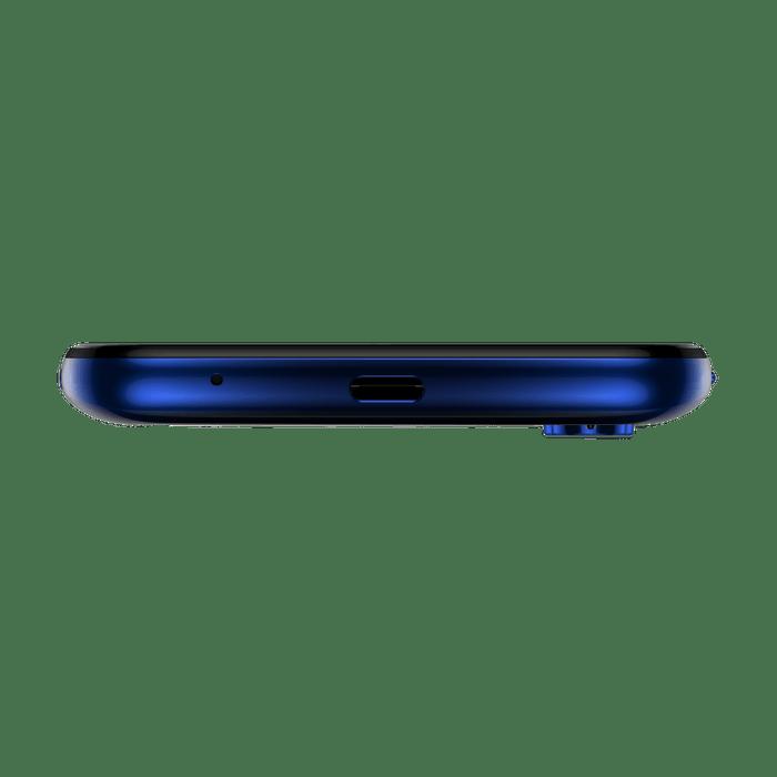 Smartphone-Motorola-one-fusion-128gb-Imagem-das-entradas-azul-safira