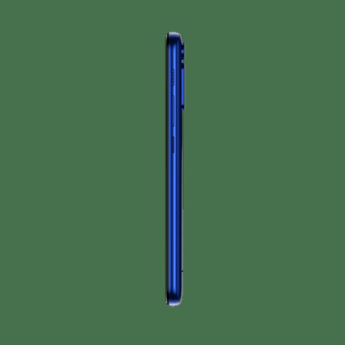 Smartphone-Motorola-one-fusion-128gb-Imagem-lateral-azul-safira