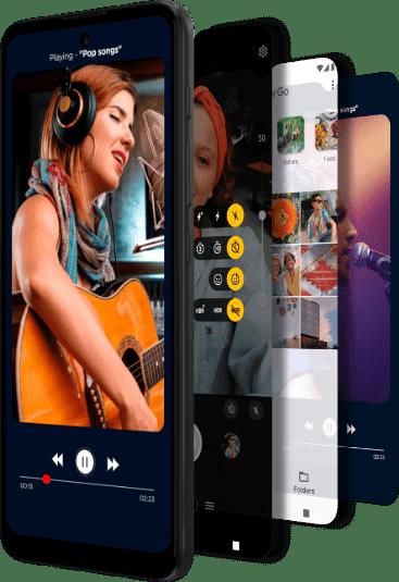 Imagem demonstrando a bateria do Smartphone Moto, com 5000 mAh