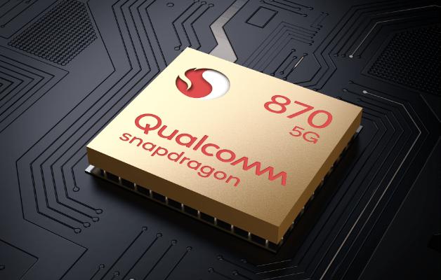 Imagem demonstrando o alto desempenho do processador Qualcomm Snapdragon 870 octa-core do smartphone moto G100