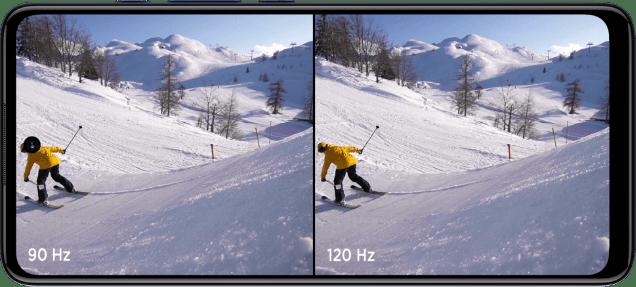 Tela max vision com alta taxa de atualização